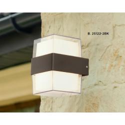 Searchlight 25122-2BK OUTDOOR, Vonkajšie nástenné svietidlo