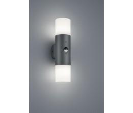 TRIO LIGHTING FOR YOU 222260242 HOOSIC, Vonkajšie nástenné svietidlo so senzorom