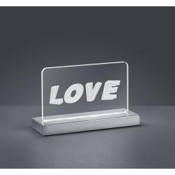 TRIO LIGHTING FOR YOU R52521106 LOVE, Dekoračné svietidlo