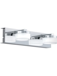 94652 EGLO LED-WL/2 CHROM/SAT-KLAR ROMENDO  nástenné svietidlo