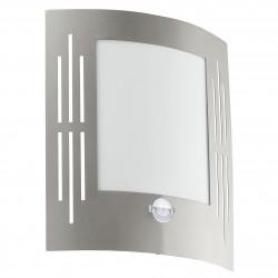Eglo 88144 CL/1 stainless-steel w.slit/CITY Nástenné svietidlo so senzorom