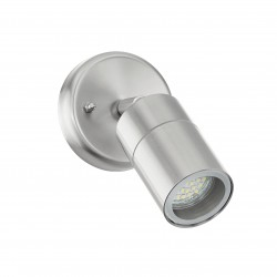 Eglo 93268 AL-wall-lamp 1-light GU10-LED 5W, stainless-steel, glass clear