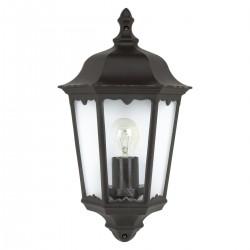Eglo 93459 wall lamp, black-silver