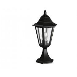 Eglo 93462 outdoor-pedestal lamp, black-silver