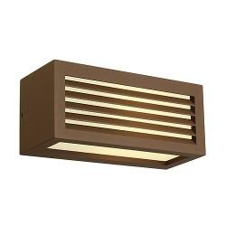 Schrack Technik LI232497  BOX-L, Vonkajšie nástenné svietidlo