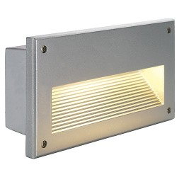 Schrack Technik  LI229062  BRICK Downunder, Vonkajšie vstavané nástenné svietidlo