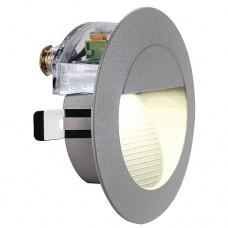Schrack Technik LI230202  DOWNUNDER LED 14 nástenné, šedý kameň, teplá biela LED