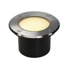 Schrack Technik LI229312  DASAR 115 LED žiarič vstavaný do zeme, nerez 316, 6W, teplá biela, IP67