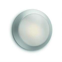 Massive-Philips Halo wall lantern inox 1x3W 230V- 17291/47/16 nástenné svietidlo