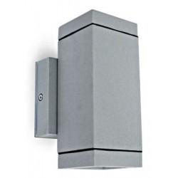 Schrack Tehnik LID11632  Cube-WL1, prisadené, nástenné, GU10, 2x35W, IP54, číre,biele
