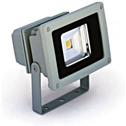 Schrack Technik LID12034  Sigma Simple LED žiarič, 10W, 3000K, 500lm, IP65, šedé