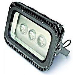 Schrack Technik LID12041  Sigma Trino LED žiarič, 3x50W, 4000K, výkyvné, IP65, šedé