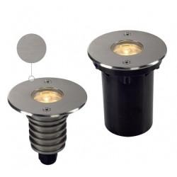 Schrack Technik  DASAR LED HV PRO zápustné, kruhové, nerez,6W,3000K,230V,IP67