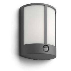 Massive Philips 16465/93/16 Stock IR antracit LED nástenné svietidlo