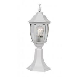 Lucide 11834/01/31Outdoor lighting socle H47cm E27/60W White