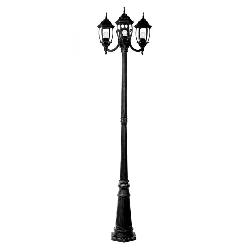 Lucide 11835/03/30 Outdoor lighting post H180cm 3xE27/60W Black