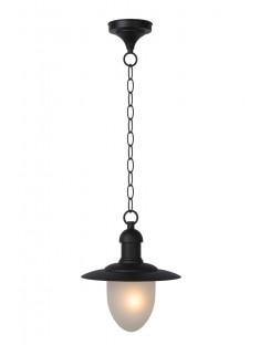Lucide 11872/01/30 ARUBA Lantern IP44 1xE27 H80 D25 Black