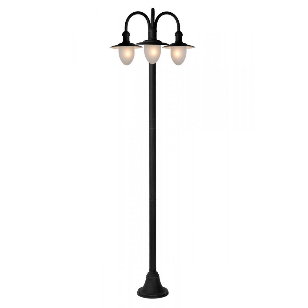 Lucide 11873/03/30  ARUBA Lantern IP44 3xE27 H125 D65 Black