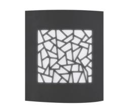 LED-POL ORO10039 ORO-ZOE-3-GREY, Vonkajšie nástenné svietidlo
