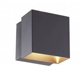 LED-POL ORO10042 ORO-FALENA-6W-1-DW, Vonkajšie nástenné svietidlo