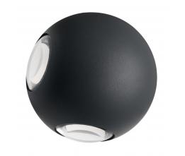 LED-POL ORO10044 ORO-FALENA-9W-3-DW, Vonkajšie nástenné svietidlo