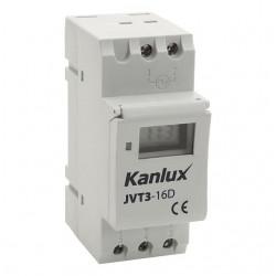 Kanlux 18721  JVT3-16AS Elektronický časový programátor