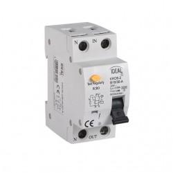 Kanlux  23211 KRO6-2/B25/30 Kombinácia istič-prúdový chránič