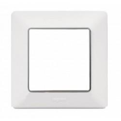 Legrand Valena Life - Jednoduchý rámik, biela/chróm - 754031