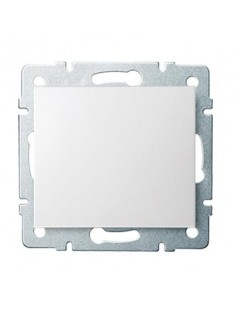 Kanlux LOGI 25065 Jednopólový vypínač 10AX - 250V~, biela