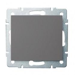 Kanlux LOGI 25243 Jednopólový vypínač 10AX - 250V~, grafit