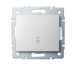 Kanlux LOGI 25072 Schodiskový vypínač 10AX - 250V~,biely