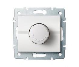 Kanlux LOGI 25082 Otočný stmievač 500W s filtrem 10AX - 250V~,biely