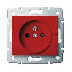 Kanlux LOGI 25091 Zásuvka samostatná DATA  16A - 250V~,červený