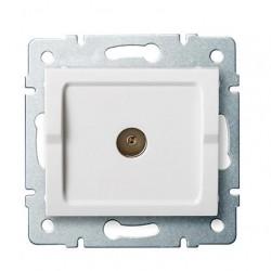 Kanlux LOGI 25098 Anténna zásuvka typu F koncová,biely