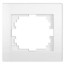 Kanlux LOGI 25117 Jednoduchý horizontálny rámeček,biely