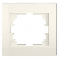 Kanlux LOGI 25176 Jednoduchý horizontálny rámeček,krémový