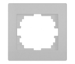 Kanlux LOGI 25235 Jednoduchý horizontálny rámeček,strieborný