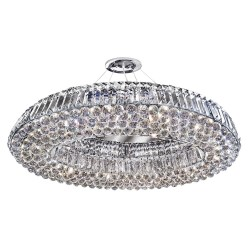 Searchlight 9291CC VESUVIUS, Exkluzívne stropné svietidlo
