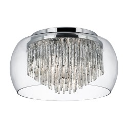 Searchlight 4624-4CC Curva, Exkluzívne stropné svietidlo
