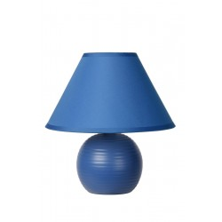 Lucide 14550/81/35 KADDY Table Lamp E14 H22 D20cm Blue