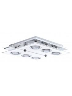 Eglo 30932 DL/6 GU10-LED CHROM/SATINIERT CABO, stropné svietidlo