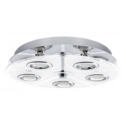 Eglo 30933 DL/5 GU10-LED CHROM/SATINIERT CABO, stropné svietidlo