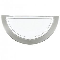 Eglo 83163 WL/1 NICKEL-MATT PLANET 1  nástenné svietidlo