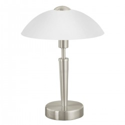 Eglo 85104 TL/1 H-350 M.TOUCHD.NICKEL-MATT SOLO 1 stolná lampa
