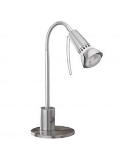 Eglo 86955 TL/1 R50 NICKEL-MATT/CHROM FOX 1 stolná lampa