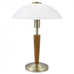 Eglo 87256 TL/1 M.TOUCH.BRÜNIERT/NUSS SOLO 1 stolná lampa