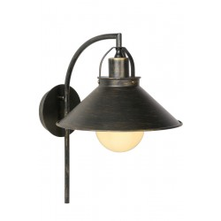 Lucide 31220/01/97 BERKLEY Wall Light E27 H38 B33 L24 Shade Metal Rus