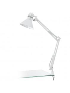 Eglo 90872 TL-KLEMMLEUCHTE/1 WEISS-GLZ/WEISSFIRMO stolná lampa