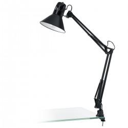 Eglo 90873 TL-KLEMMLEUCHTE/1 SW-GLZ/SW FIRMO  stolná lampa