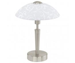 Eglo 91238 TL/1 M.TOUCH.NICKEL-M/WS M.DEKOR SOLO stolná lampa